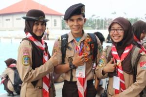 Ujung Kanan dan Kiri Delegasi UIN Jakarta