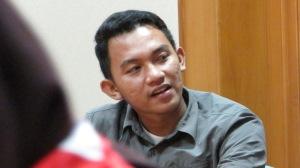 Kak Zaki, Anggota DKN dari Pramuka UIN Jakarta